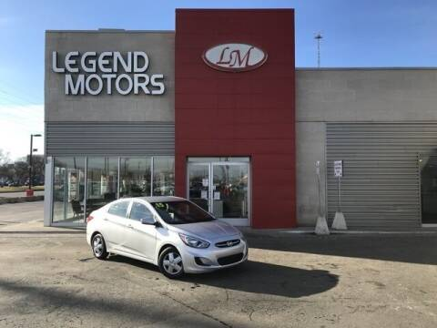 2015 Hyundai Accent for sale at Legend Motors of Detroit - Legend Motors of Ferndale in Ferndale MI