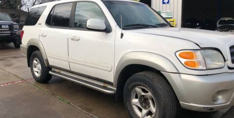 2003 Toyota Sequoia for sale at ALL STAR MOTORS INC in Houston TX