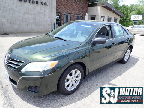 2011 Toyota Camry for sale at S & J Motor Co Inc. in Merrimack NH