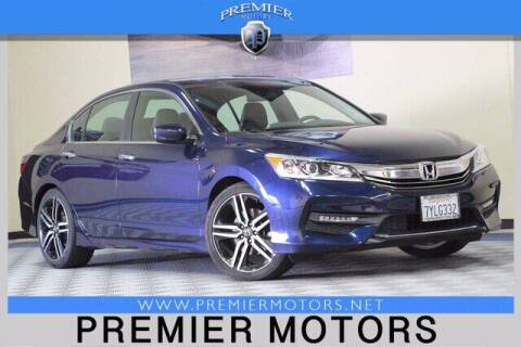 2017 Honda Accord for sale at Premier Motors in Hayward CA