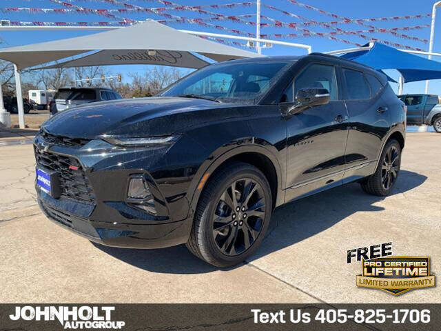2021 Chevrolet Blazer for sale at JOHN HOLT AUTO GROUP, INC. in Chickasha OK