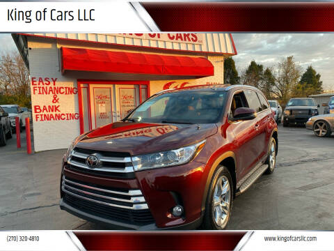 2018 Toyota Highlander for sale at King of Cars LLC in Bowling Green KY