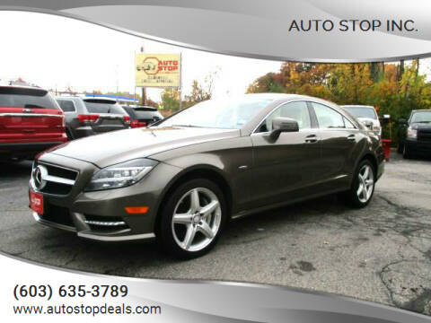 2012 Mercedes-Benz CLS for sale at AUTO STOP INC. in Pelham NH