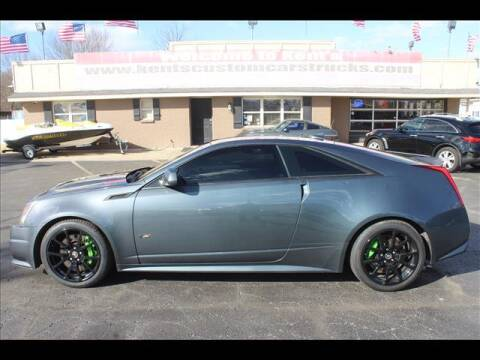 2011 Cadillac CTS-V for sale at Kents Custom Cars and Trucks in Collinsville OK