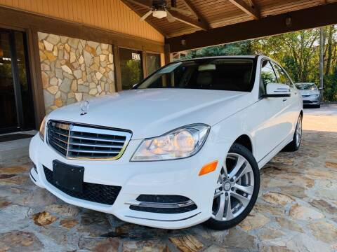 2014 Mercedes-Benz C-Class for sale at Classic Luxury Motors in Buford GA