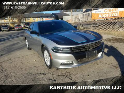 2015 Dodge Charger for sale at EASTSIDE AUTOMOTIVE LLC in Nashville TN