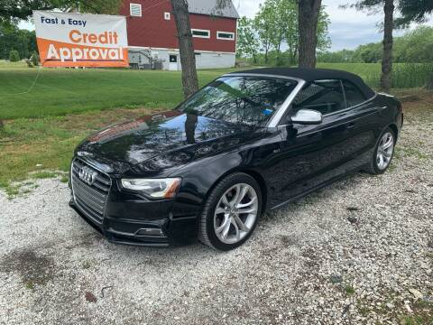 2013 Audi S5 for sale at Caulfields Family Auto Sales in Bath PA