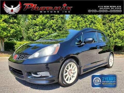 2013 Honda Fit for sale at Phoenix Motors Inc in Raleigh NC