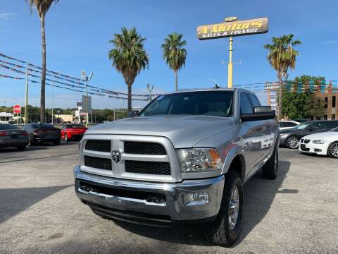 2016 RAM Ram Pickup 2500 for sale at A MOTORS SALES AND FINANCE in San Antonio TX