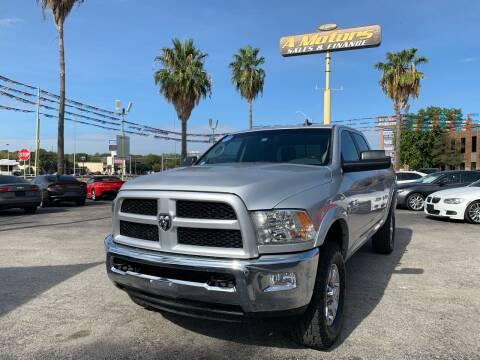 2016 RAM Ram Pickup 2500 for sale at A MOTORS SALES AND FINANCE in San Antonio TX