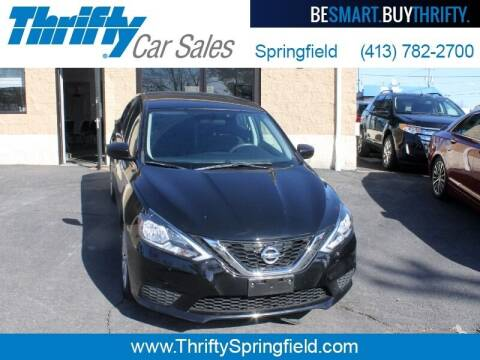 2017 Nissan Sentra for sale at Thrifty Car Sales Springfield in Springfield MA
