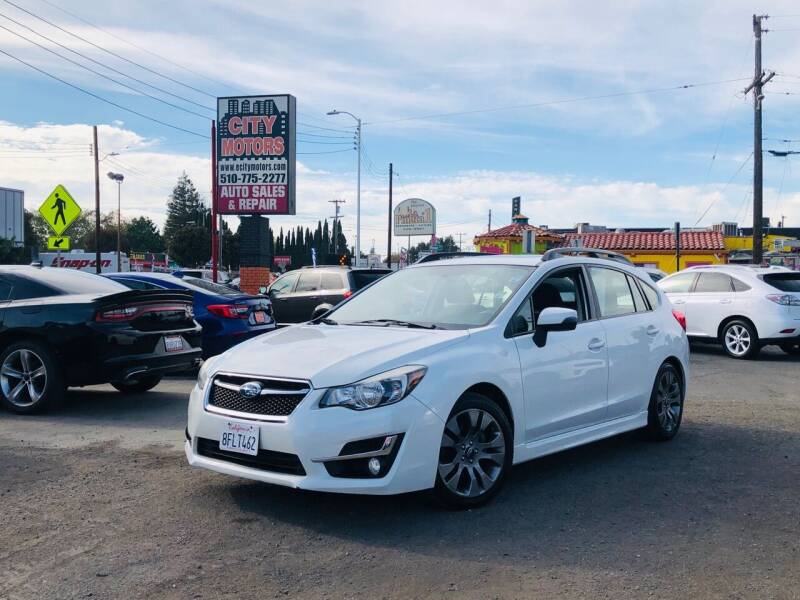 2015 Subaru Impreza for sale at City Motors in Hayward CA