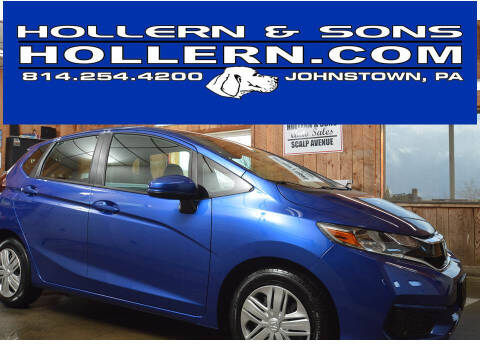 2019 Honda Fit for sale at Hollern & Sons Auto Sales in Johnstown PA