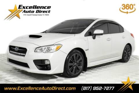 2017 Subaru WRX for sale at Excellence Auto Direct in Euless TX