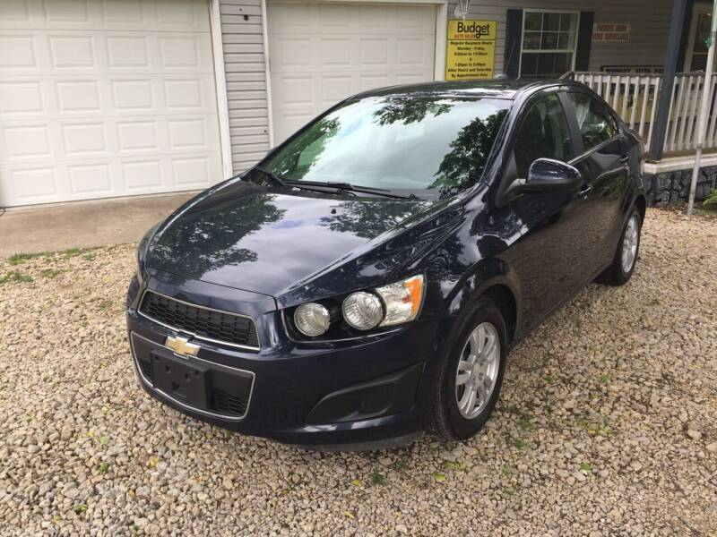 2016 Chevrolet Sonic for sale at Budget Auto Sales in Bonne Terre MO