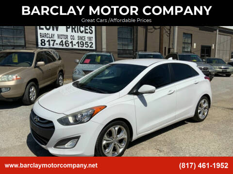 2014 Hyundai Elantra GT for sale at BARCLAY MOTOR COMPANY in Arlington TX