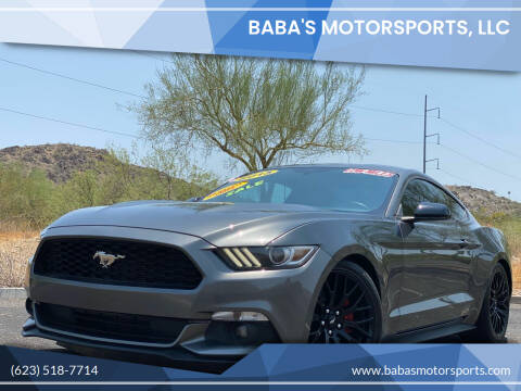2015 Ford Mustang for sale at Baba's Motorsports, LLC in Phoenix AZ