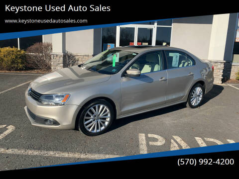 2013 Volkswagen Jetta for sale at Keystone Used Auto Sales in Brodheadsville PA