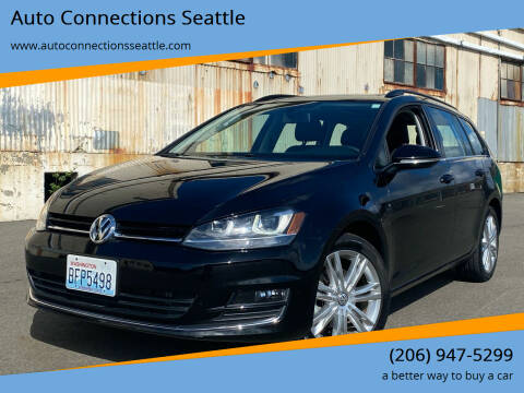 2015 Volkswagen Golf SportWagen for sale at Auto Connections Seattle in Seattle WA