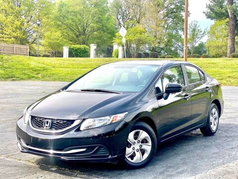 2015 Honda Civic for sale at Sebar Inc. in Greensboro NC