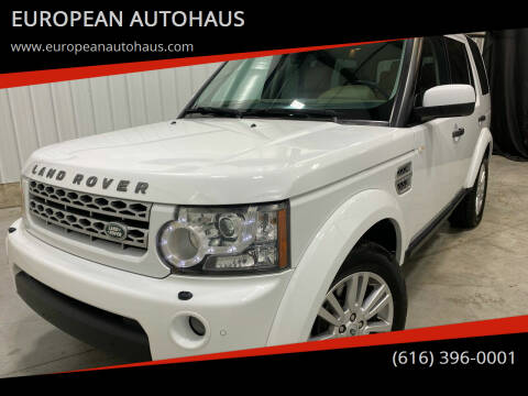 2011 Land Rover LR4 for sale at EUROPEAN AUTOHAUS in Holland MI