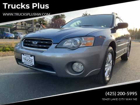 2005 Subaru Outback for sale at Trucks Plus in Seattle WA