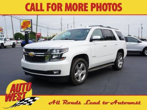 2016 Chevrolet Tahoe for sale at Autowest of Plainwell in Plainwell MI