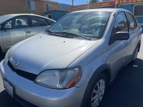 2002 Toyota ECHO for sale at CARZ in San Diego CA