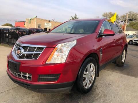 2012 Cadillac SRX for sale at Crestwood Auto Center in Richmond VA