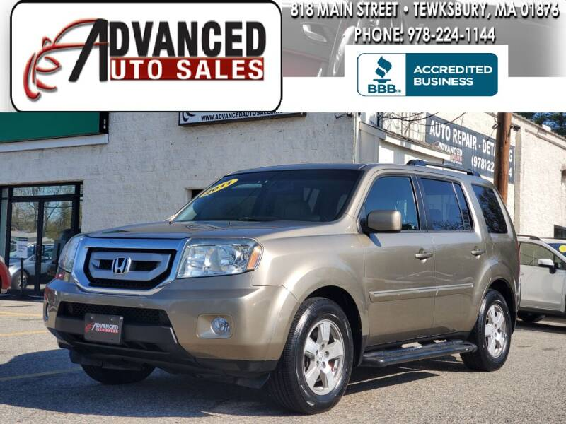 2011 Honda Pilot for sale at Advanced Auto Sales in Tewksbury MA