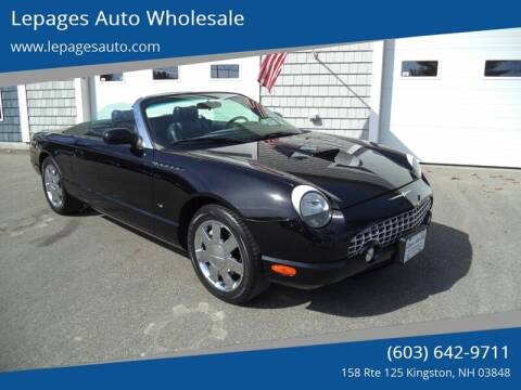 2003 Ford Thunderbird for sale at Lepages Auto Wholesale in Kingston NH