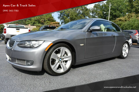 2007 BMW 3 Series for sale at Apex Car & Truck Sales in Apex NC