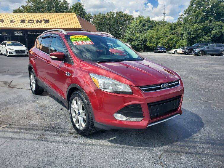 2016 Ford Escape for sale at Houser & Son Auto Sales in Blountville TN