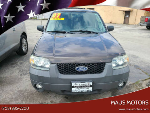 2007 Ford Escape for sale at MAUS MOTORS in Hazel Crest IL