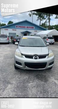 2008 Mazda CX-7 for sale at Supreme Motors in Tavares FL