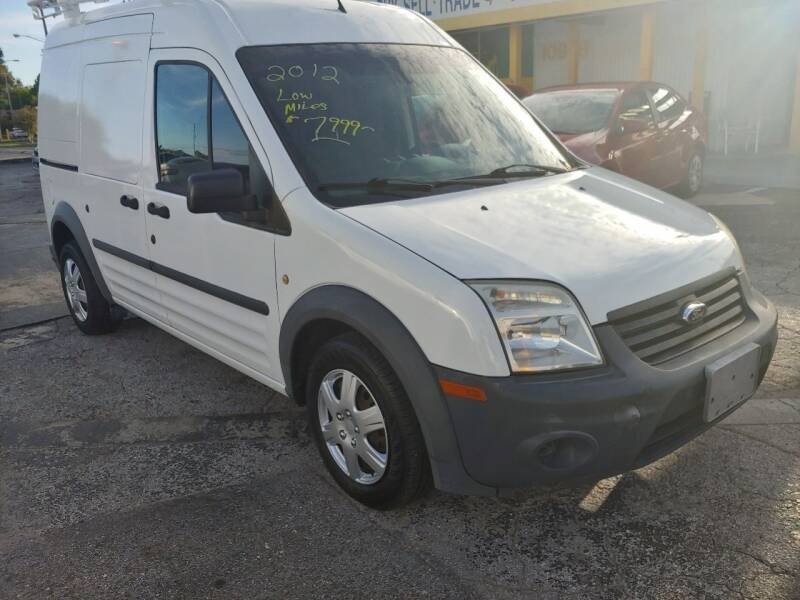 2012 Ford Transit Connect XL 4dr Cargo Mini-Van w/o Side and Rear Glass - Largo FL