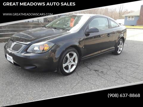 2008 Pontiac G5 for sale at GREAT MEADOWS AUTO SALES in Great Meadows NJ