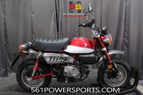 2020 Honda Monkey ABS for sale at Powersports of Palm Beach in Hollywood FL