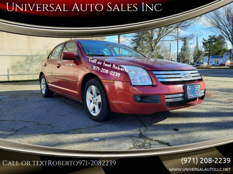 2008 Ford Fusion for sale at Universal Auto Sales Inc in Salem OR
