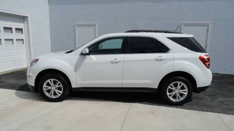 2017 Chevrolet Equinox for sale at WRIGHT'S in Hillsboro KS