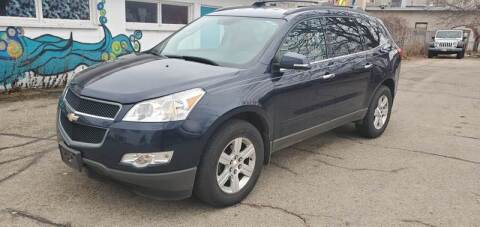 2012 Chevrolet Traverse for sale at Steve's Auto Sales in Madison WI