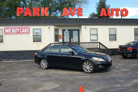 2009 Hyundai Genesis for sale at Park Ave Auto Inc. in Worcester MA