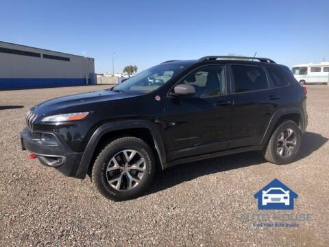 2014 Jeep Cherokee for sale at MyAutoJack.com @ Auto House in Tempe AZ