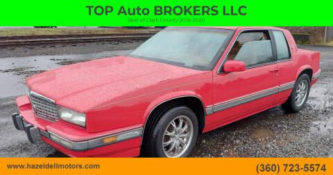 1990 Cadillac Eldorado for sale at TOP Auto BROKERS LLC in Vancouver WA
