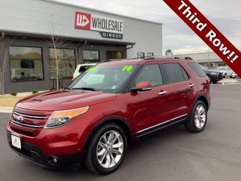 2014 Ford Explorer for sale at Wholesale Direct in Wilmington NC