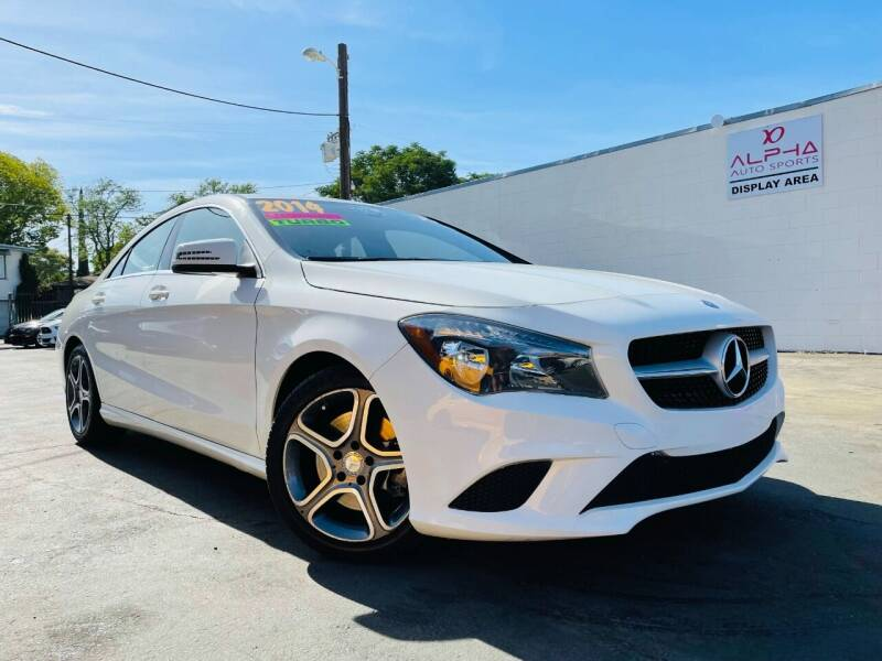 2014 Mercedes-Benz CLA for sale at Alpha AutoSports in Roseville CA