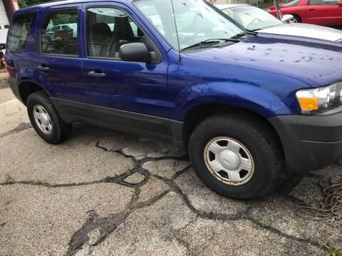 2006 Ford Escape for sale at 10th Ward Auto Sales, Inc in Chicago IL