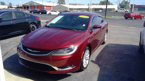 2016 Chrysler 200 for sale at Nelson Car Country in Bixby OK