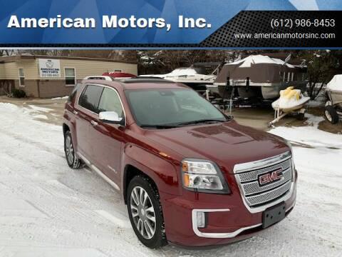2017 GMC Terrain for sale at American Motors, Inc. in Farmington MN