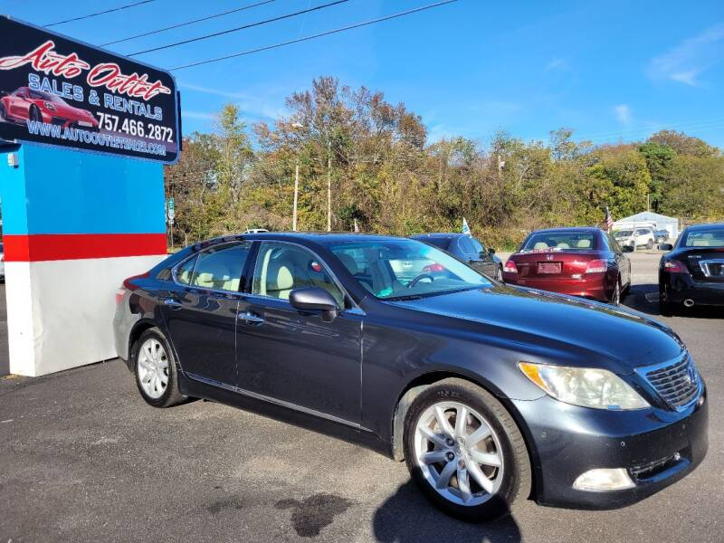 2007 Lexus LS 460 for sale at Auto Outlet Sales and Rentals in Norfolk VA